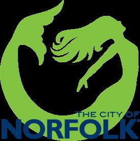 Norfolk VERTICAL logo - 2 color REGISTERED