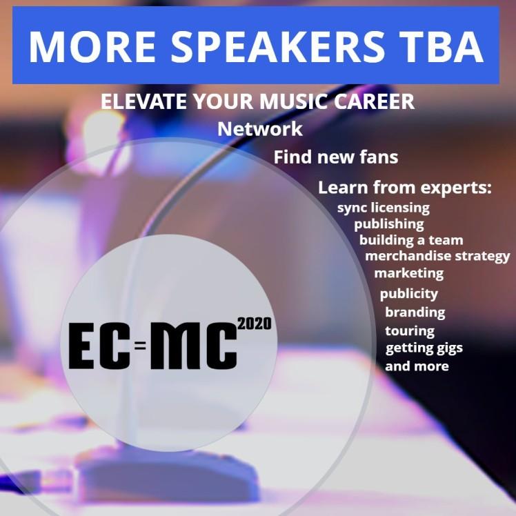 More Speakers TBA 2020